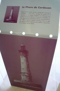 Pupitre phare de Cordouan