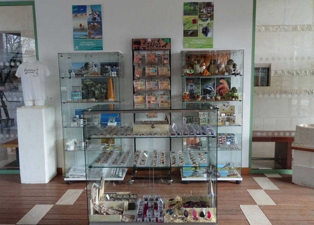 Vue générale de la boutique